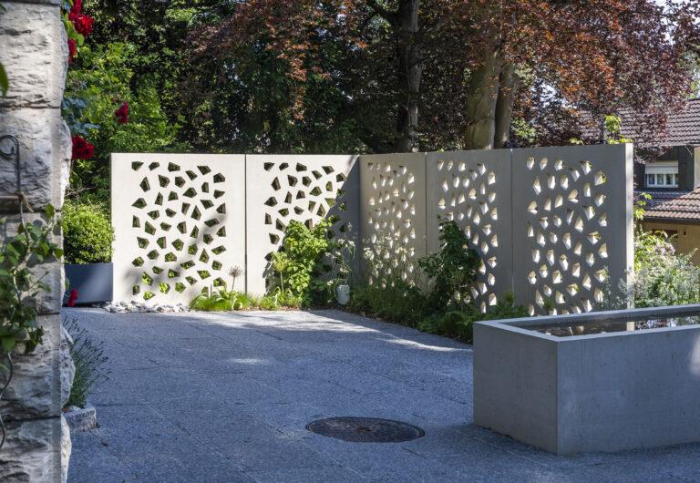 Gestalten Mauern und Sichtschutz