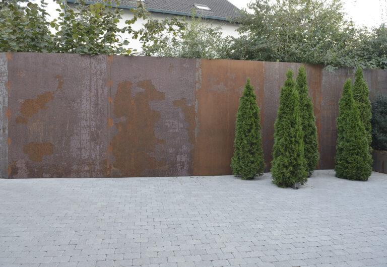 Stahlwand Thalheim