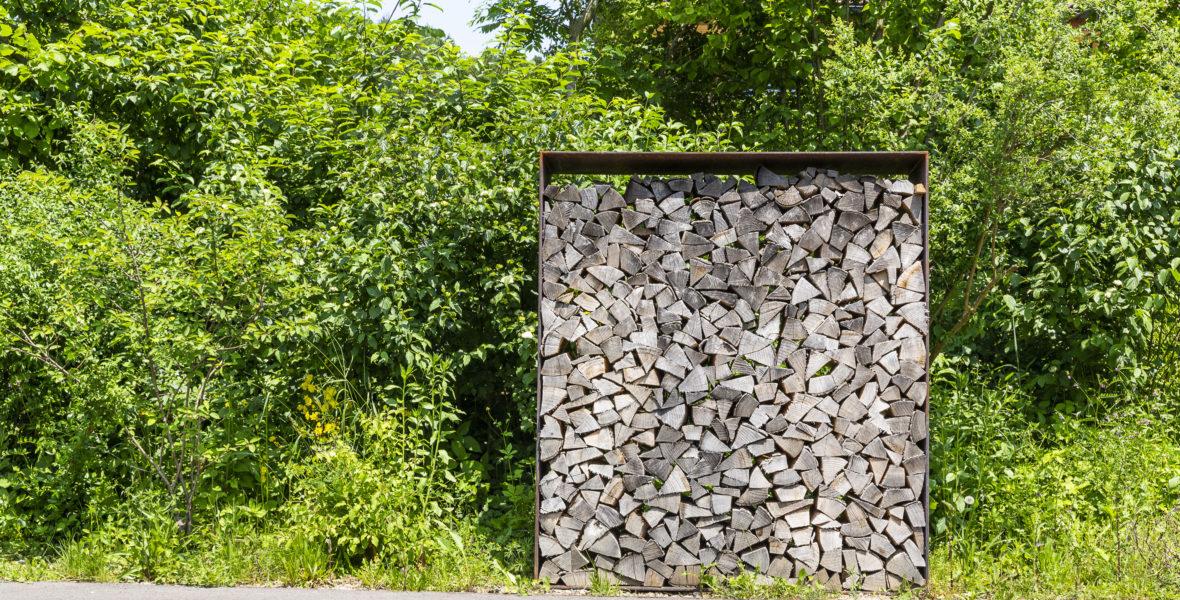 Holzbiege Sichtschutz Rikon
